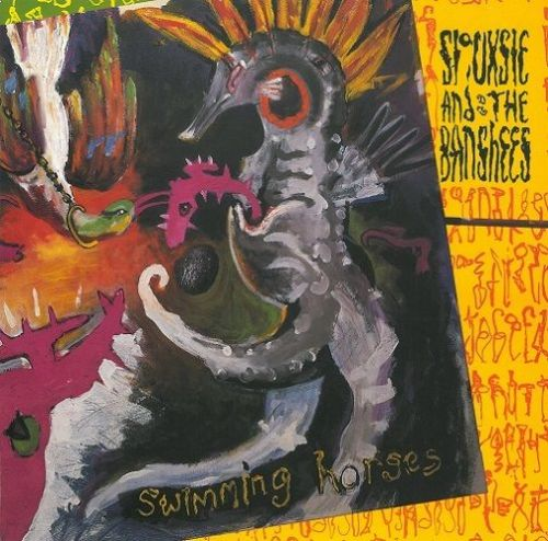 SIOUXSIE AND THE BANSHEES Swimming Horses Vinyl Record 12 Inch Polydor 1984